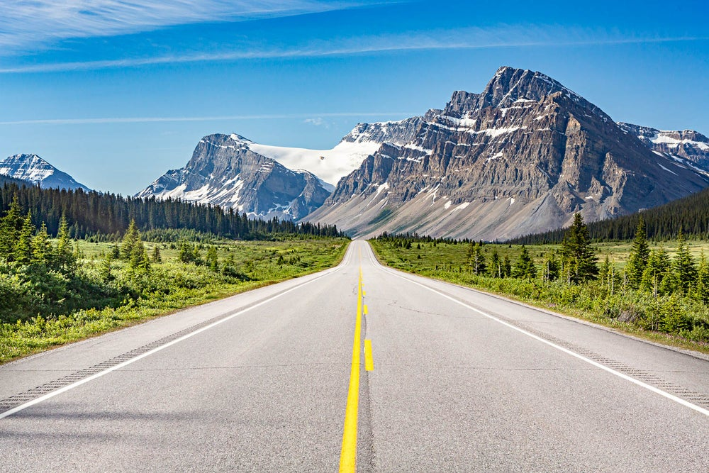 Image of Glacier road - West Canada