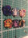 Unicorn / Alicorn Pet Pins
