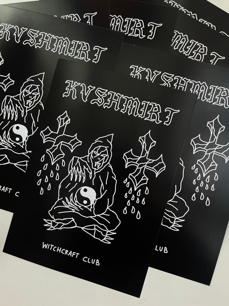 Image of Witchcraft club print