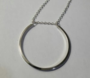 Image of large horseshoe necklace