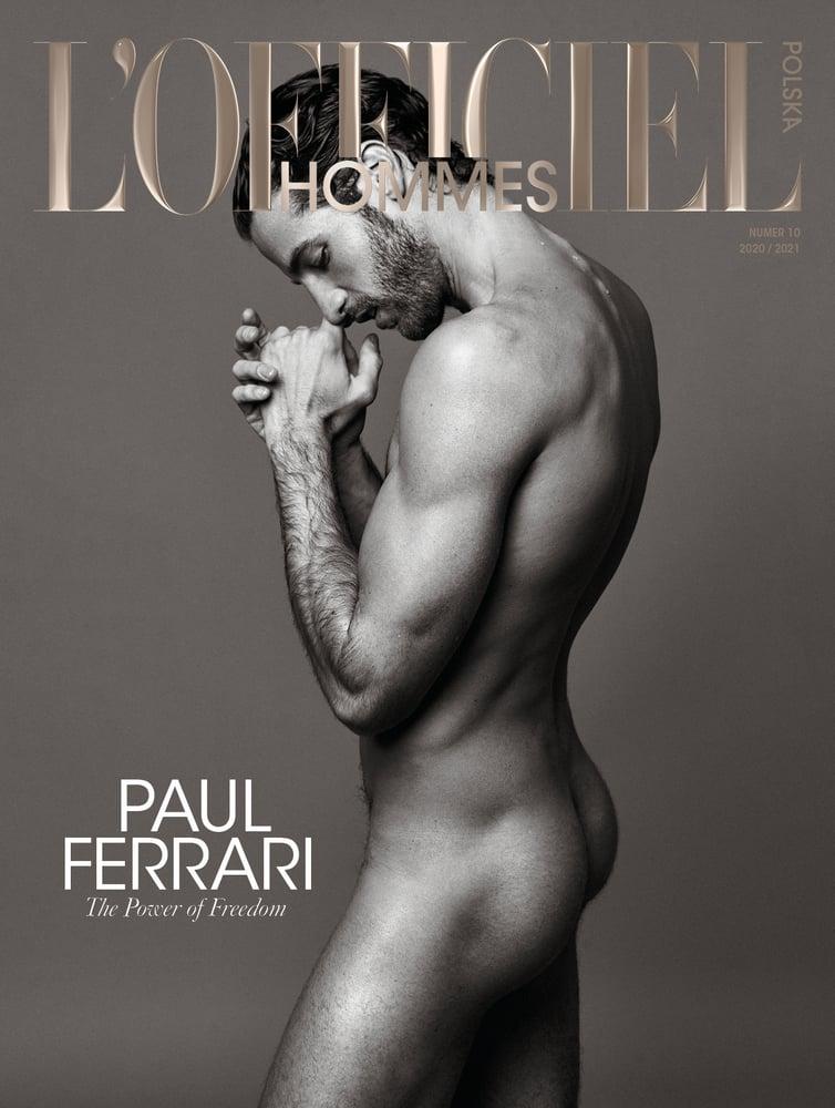 Image of L'OFFICIEL HOMMES POLSKA  Nr 10 / 2020-2021 Paul Ferrari