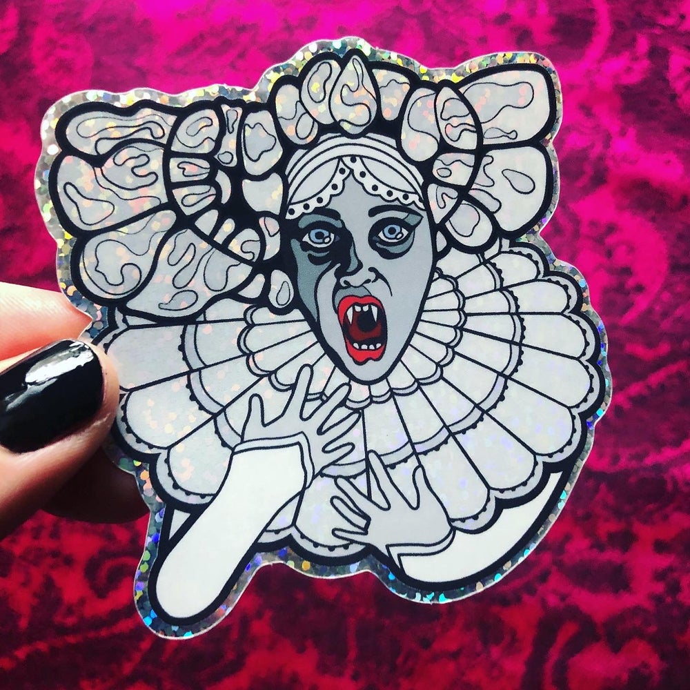 Image of LUCY WESTENRA Glitter Sticker