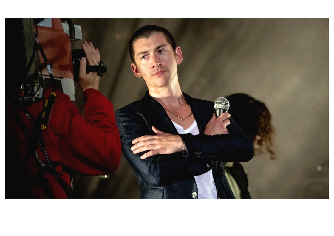 Image of Alex Turner Posing For Camera