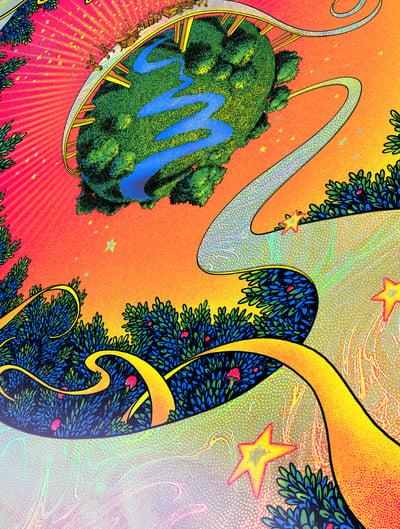 Image of Umphrey's McGee - Till We Meet Again - Super Swirl HoloFoil