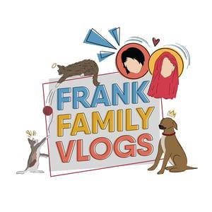Image of Frank Family Vlogs Zip-Up Hoodie