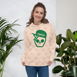 Image of Skull And Birds Unisex Hoodie