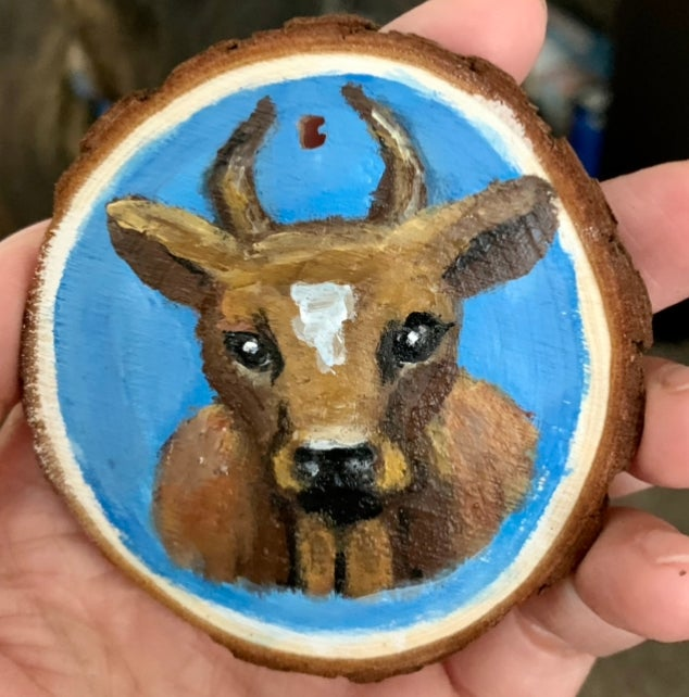 Image of Cow Ornament