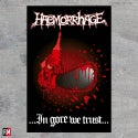 Haemorrhage In Gore We Trust Poster Flag