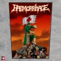Haemorrhage Live Carnage Printed Back Patch