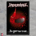 Haemorrhage In Gore We Trust Printed Patch