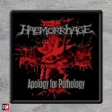Haemorrhage Apology for Patology Printed Patch