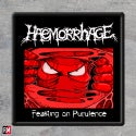 Haemorrhage Feasting On Purulence Printed Patch