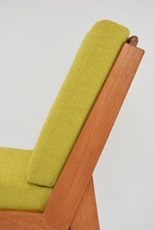 Image of Fauteuil L jaune citron