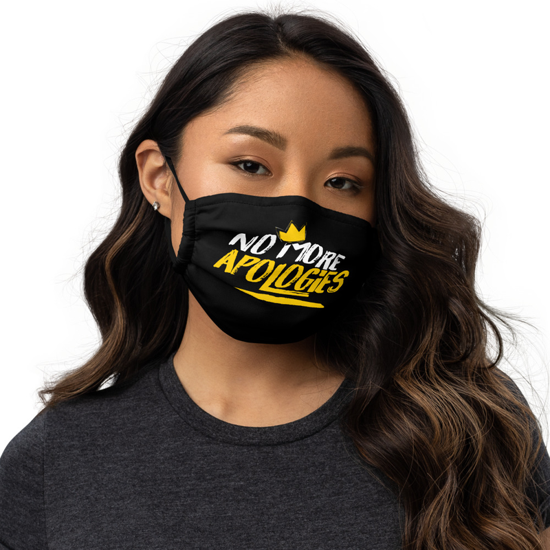 "Image of No More Apologies ""Face Mask"""