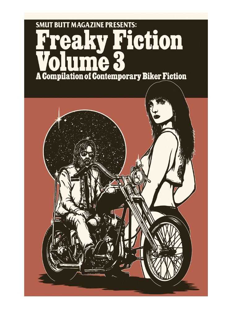 Image of SMUT BUTT MAGAZINE PRESENTS: FREAKY FICTION VOL. 3