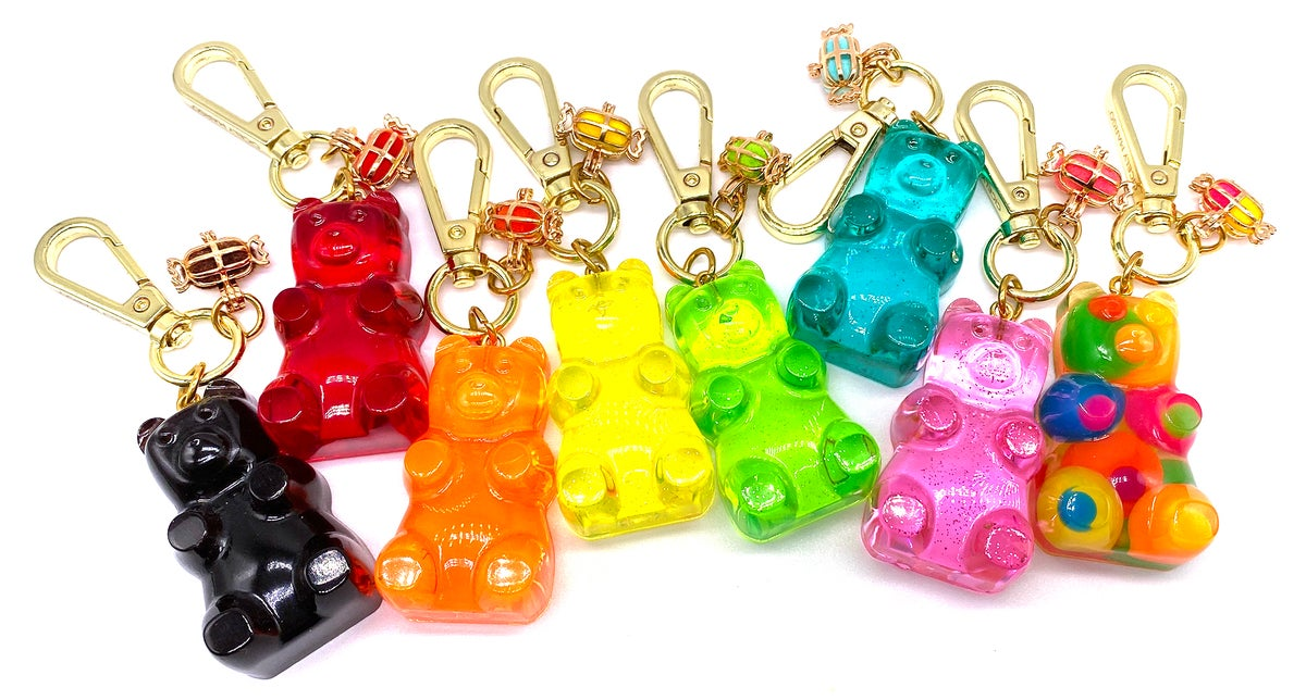 Image of Scented Gummy Bear Bag Charm