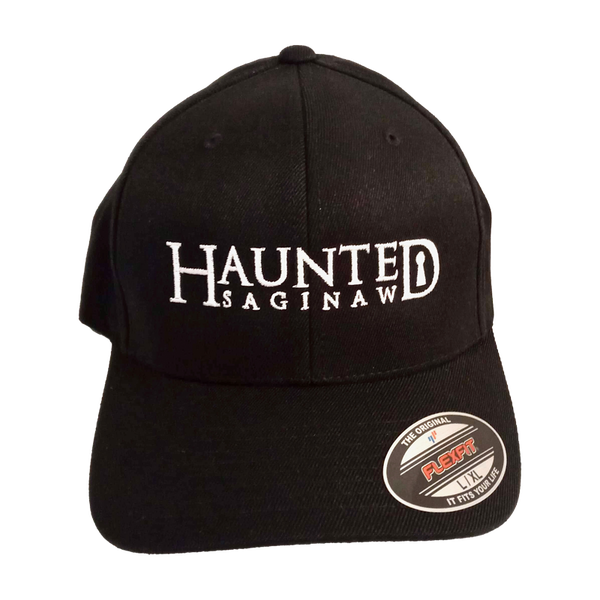 Image of Haunted Saginaw Logo Flex Fit Baseball Cap