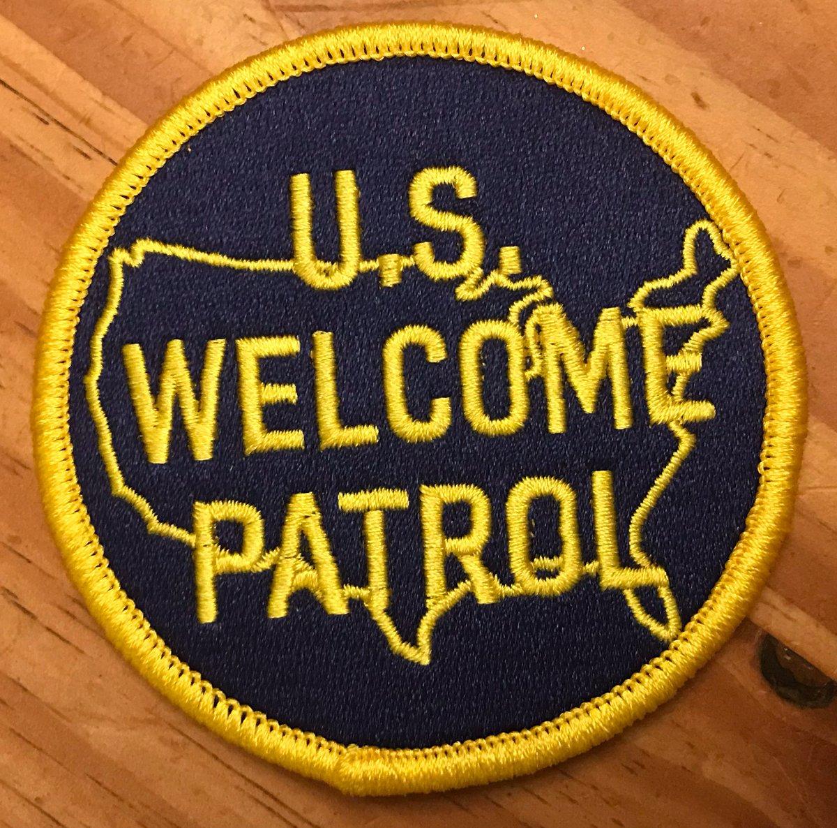 Image of U.S. WELCOME PATROL