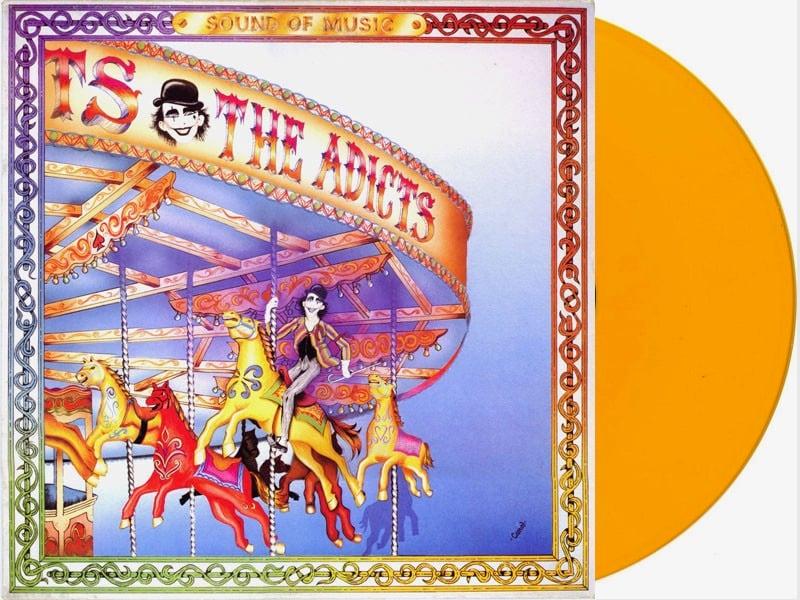 Image of Adicts-Sound of Music LP Orange Vinyl Generation Records Exclusive