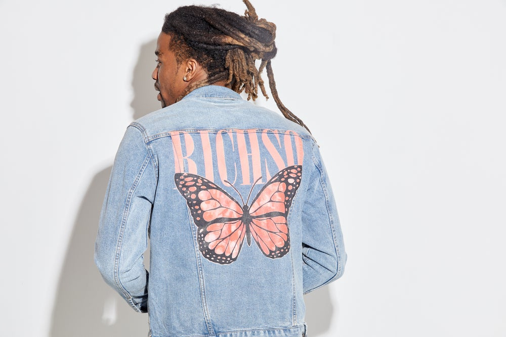 Image of A New Life Jean Jacket