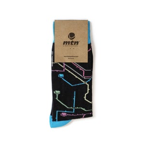Image of MTN METRO SOCKS BLACK