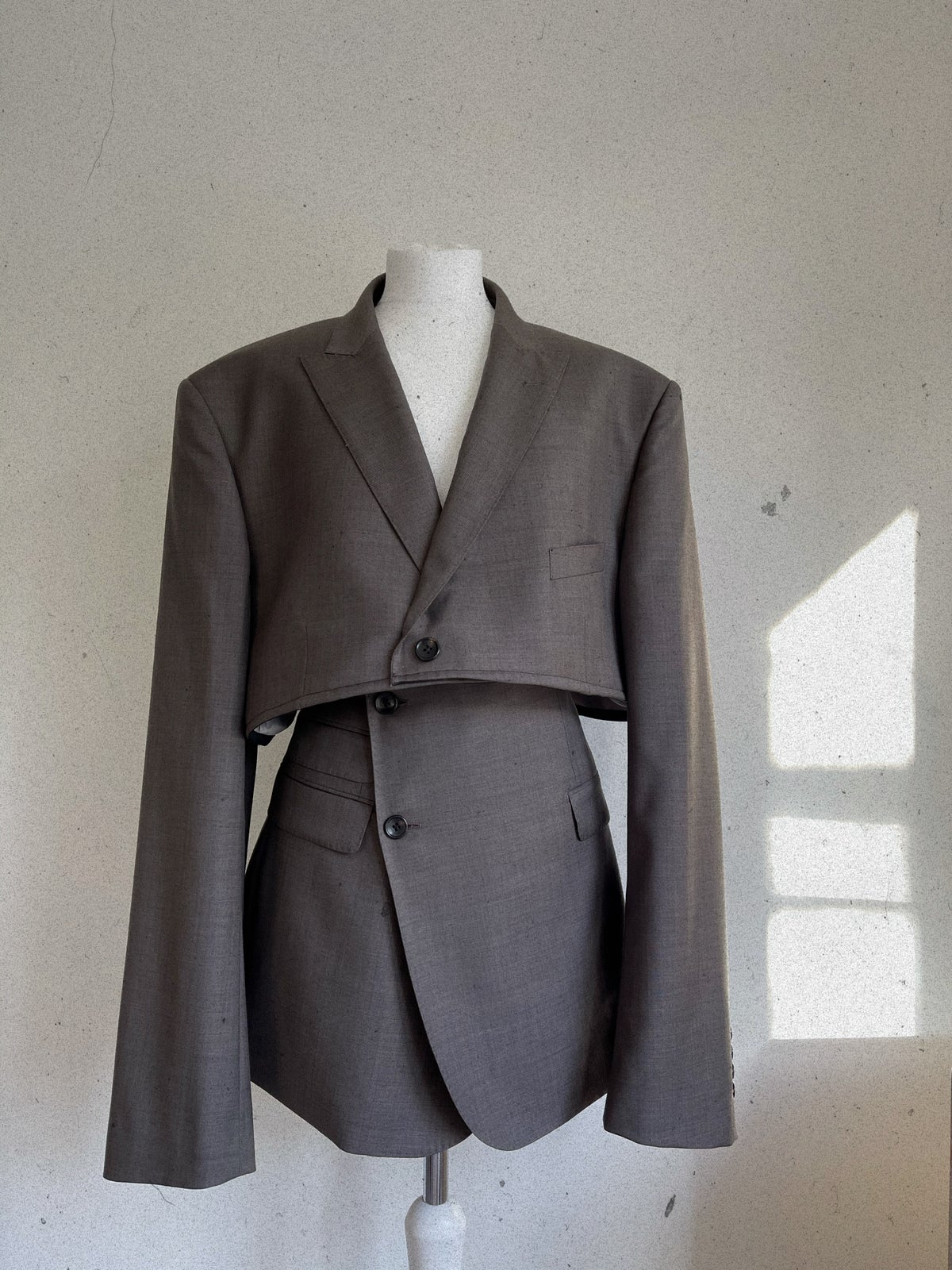 Reworked Grey Suit