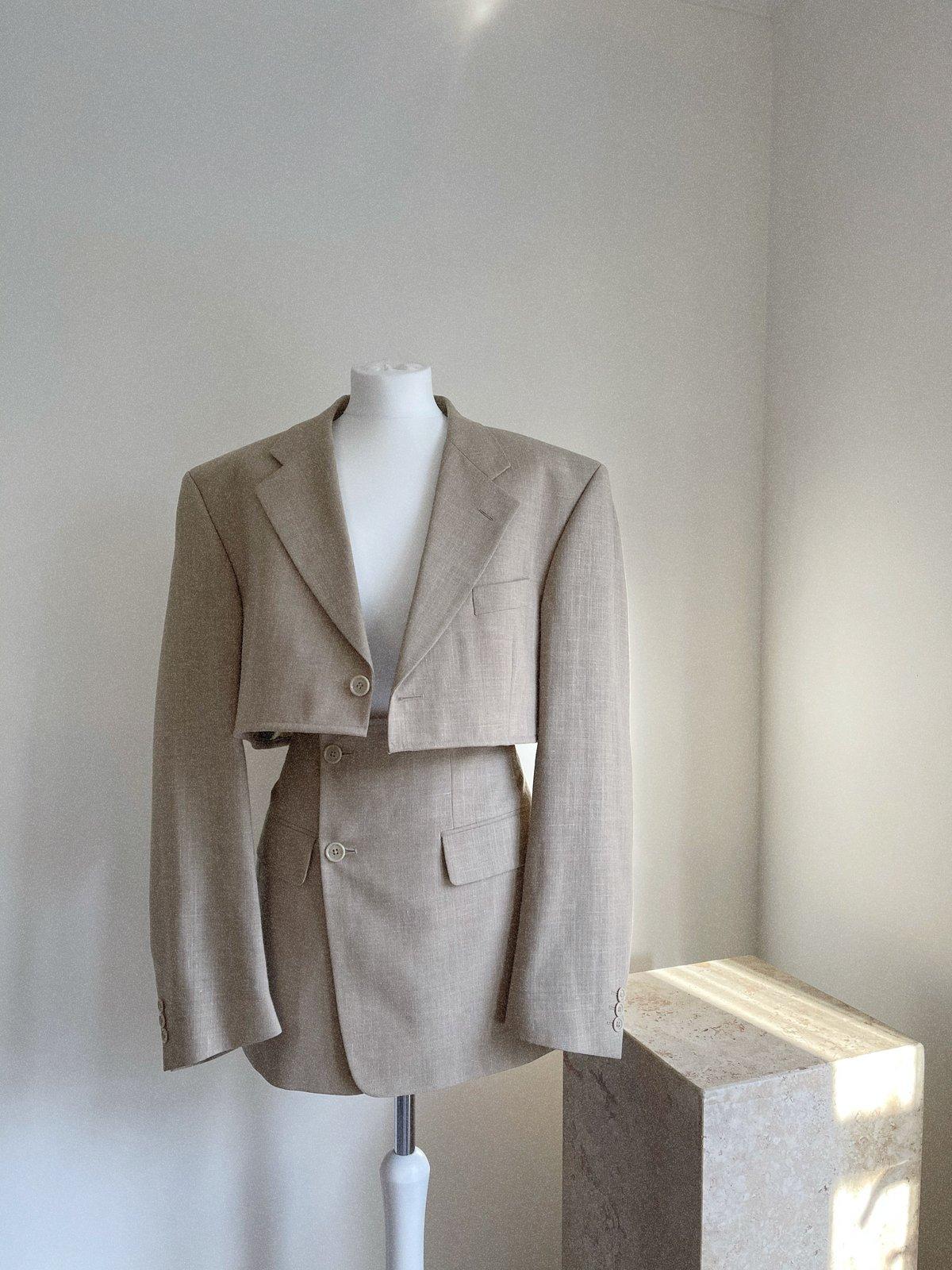 Reworked Beige Suit