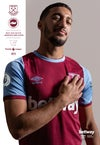 West Ham United v Brighton & Hove Albion 27/12/20 (With 2020/21 Squad Poster) *Including UK Postage