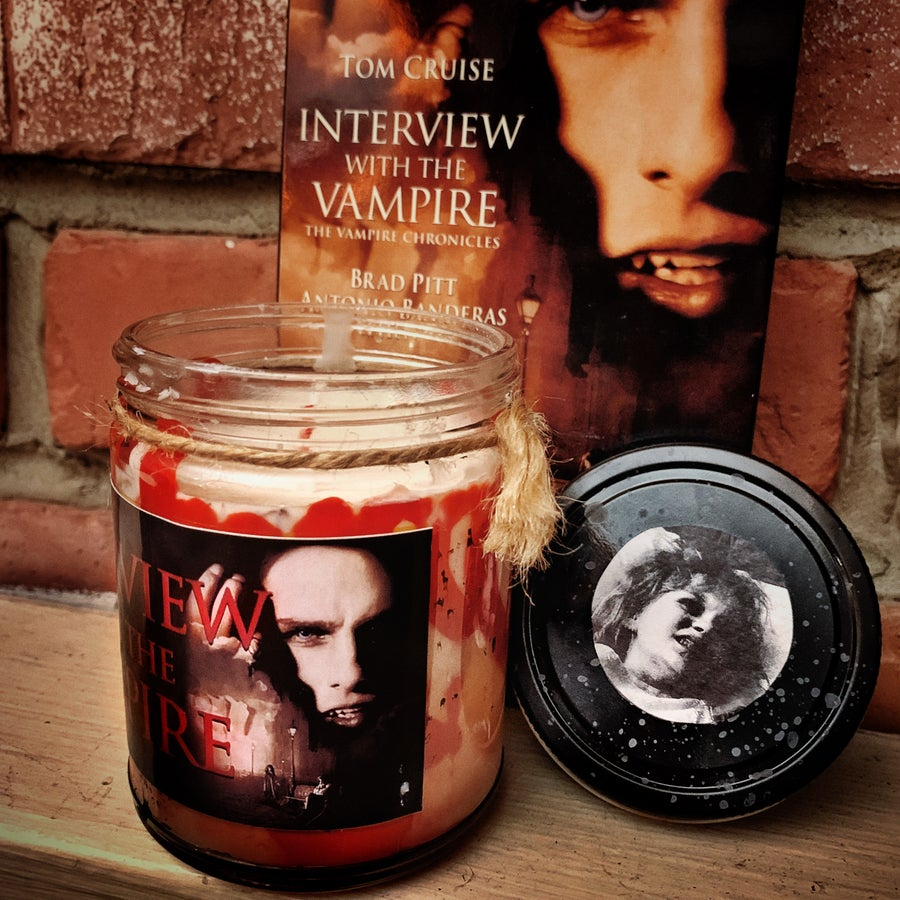 Image of Interview With the Vampire Candle