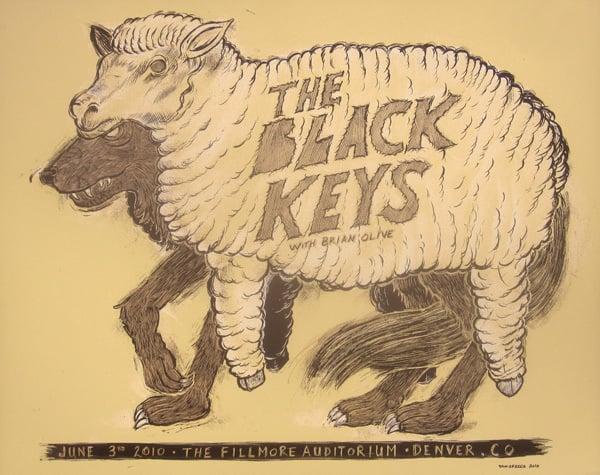 The Black Keys Fillmore CO 2010