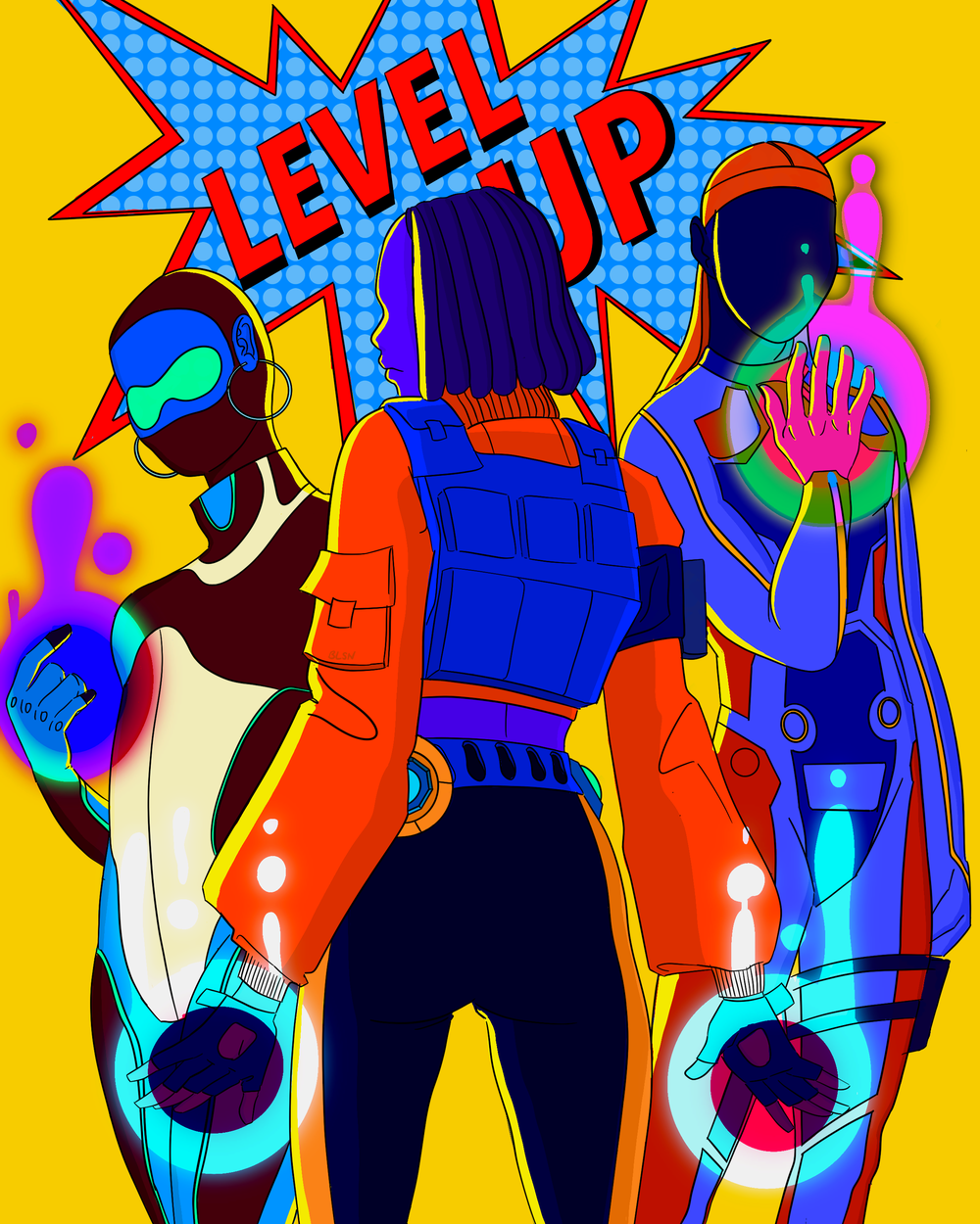 Image of LEVEL UP PRINT