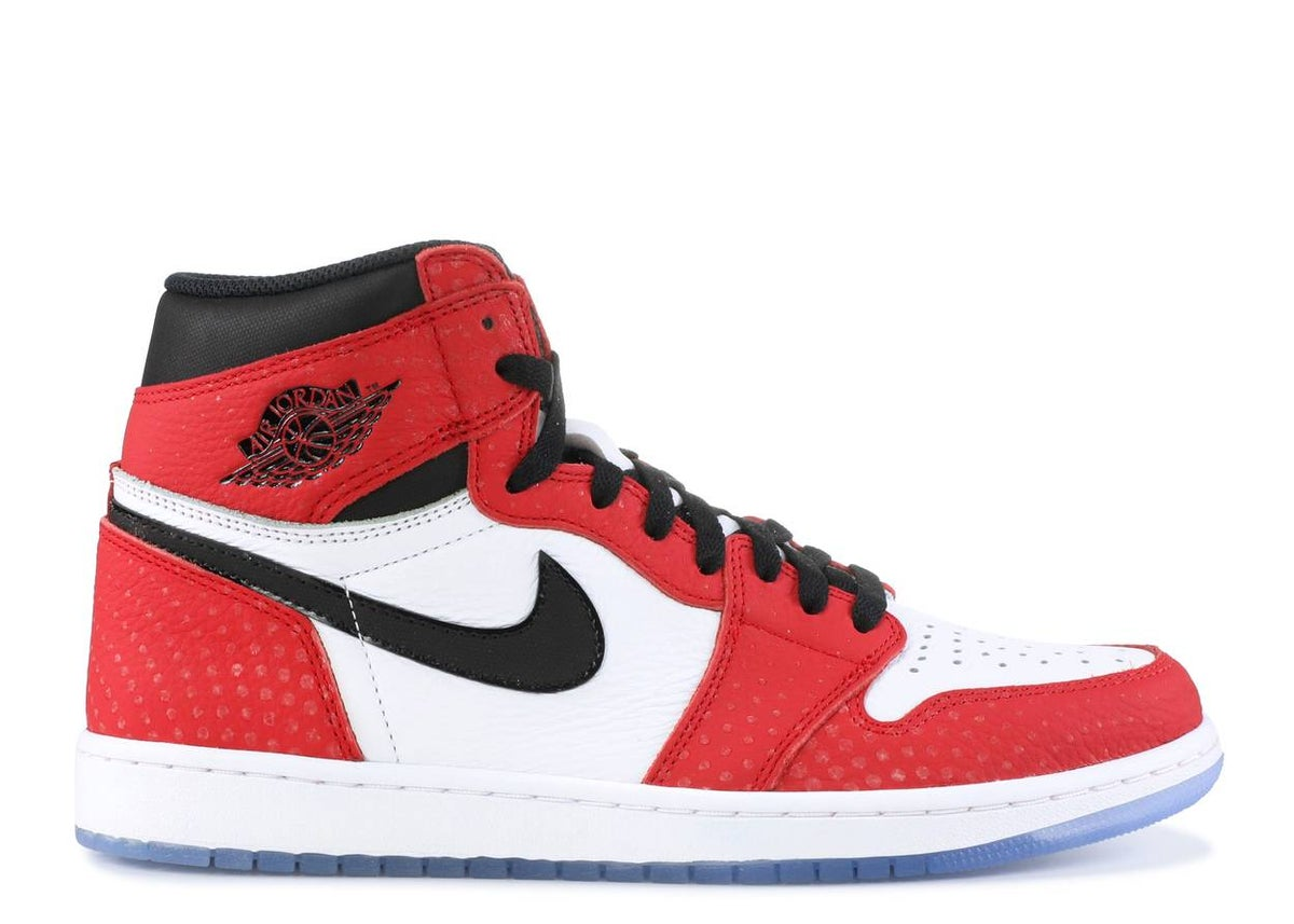 "Image of AIR JORDAN 1 RETRO HIGH OG ""SPIDERMAN"""