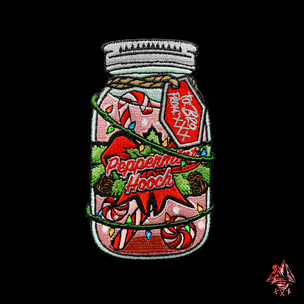 Image of Holiday Peppermint Jar
