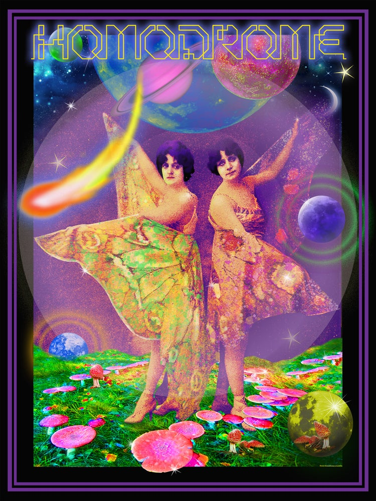 Image of Space Fairies Poster