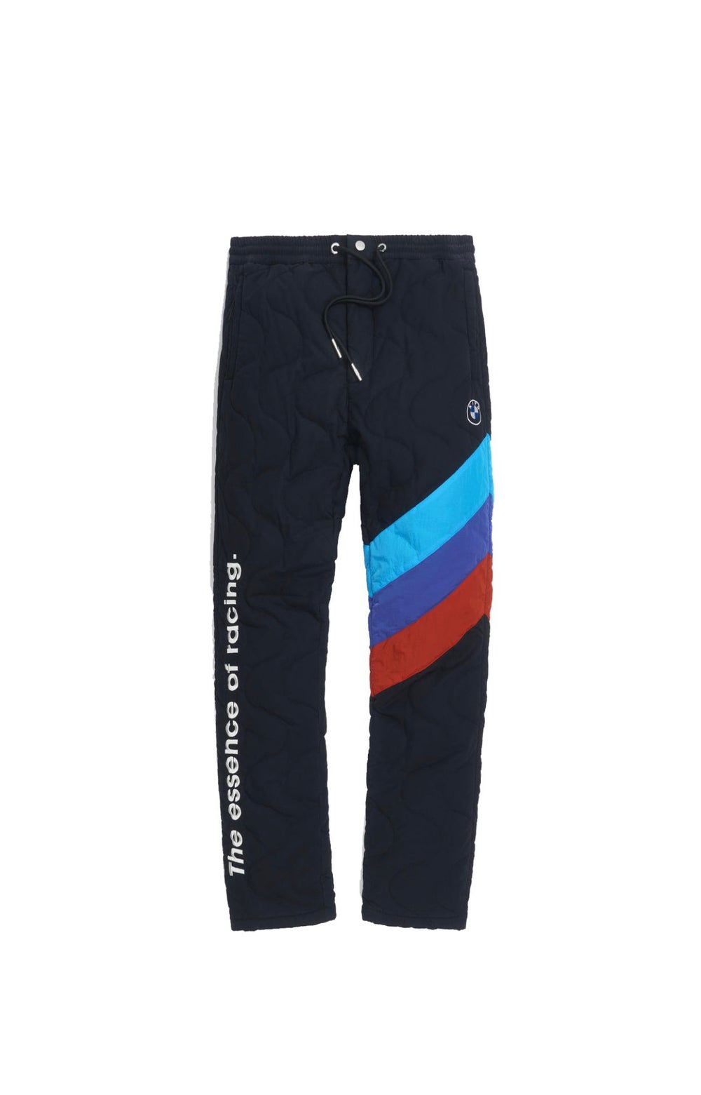 KITH BMW QUILTED RACING PANTS 'BLACK'