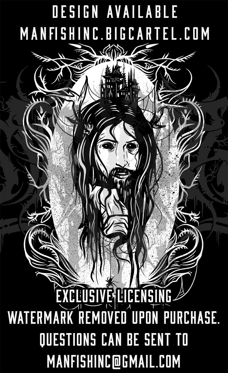 Image of Shirt Design - Embodied Darkness