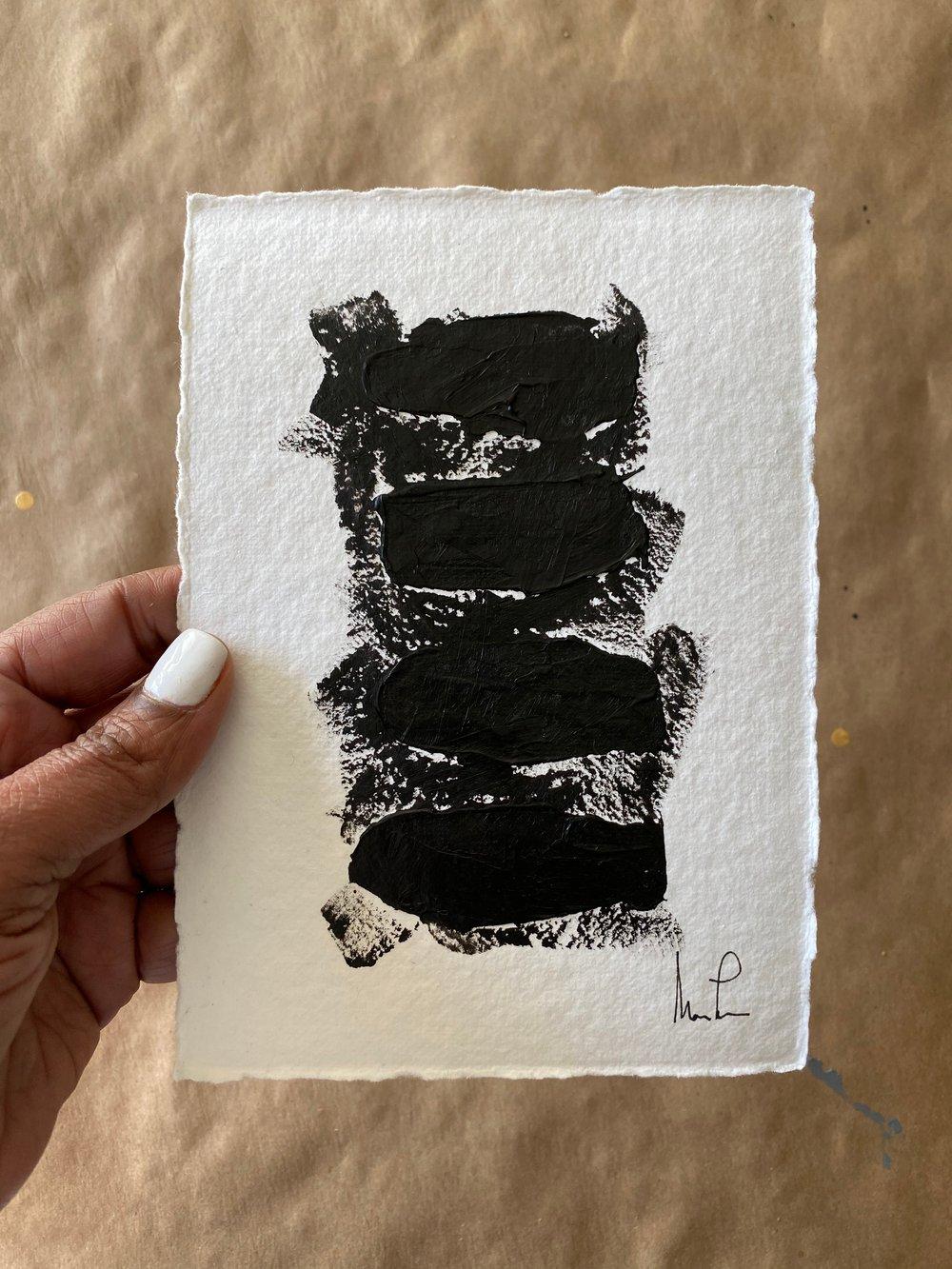 Image of Black Tie Cotton Rag (14)