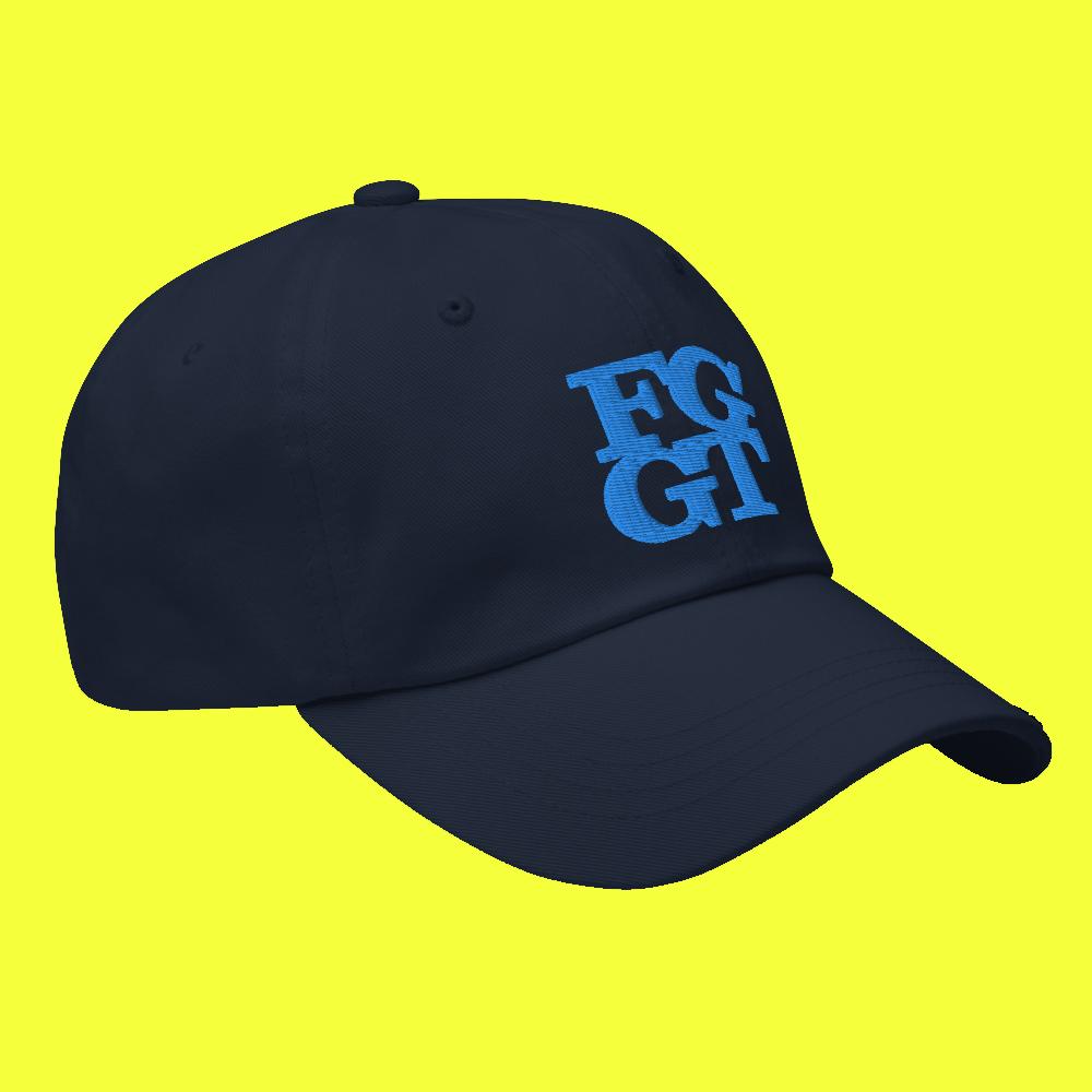 Image of FGGT HAT  Blue Stich