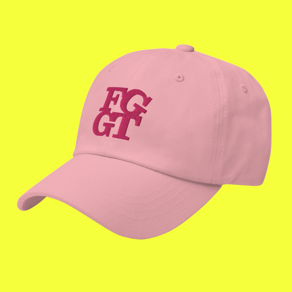 Image of FGGT HAT  Pink Stitch