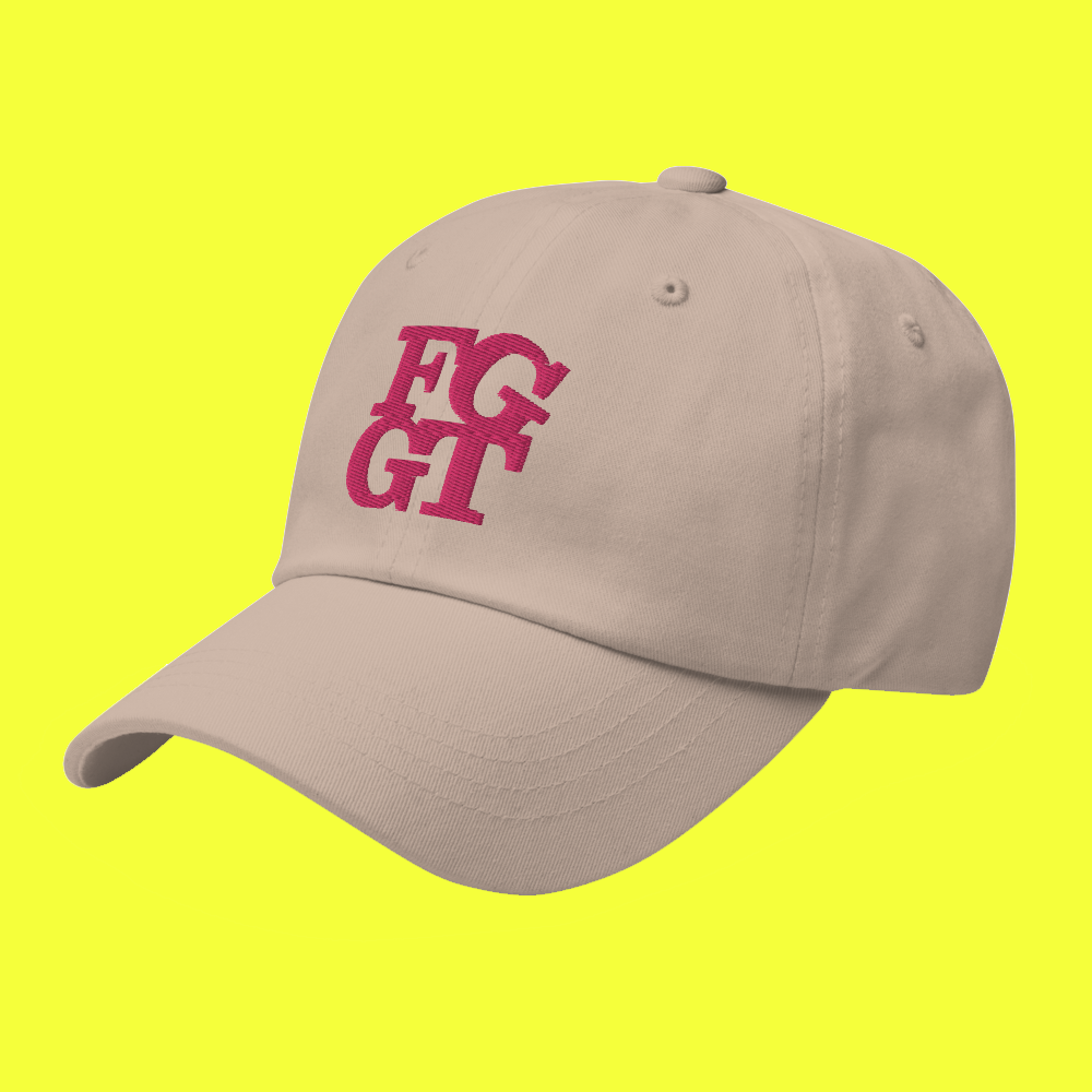Image of FGGT HAT  Pink Stitch