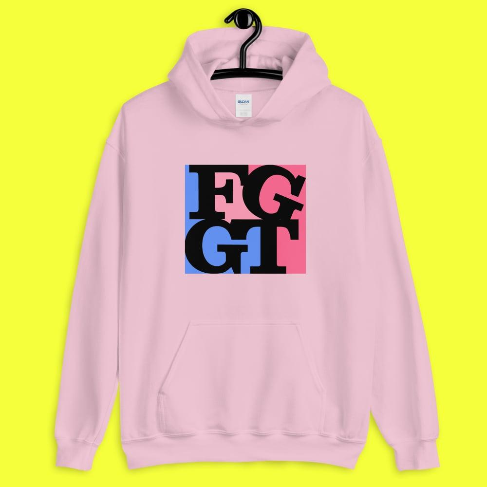 Image of FGGT HOODIE   Pink/Black