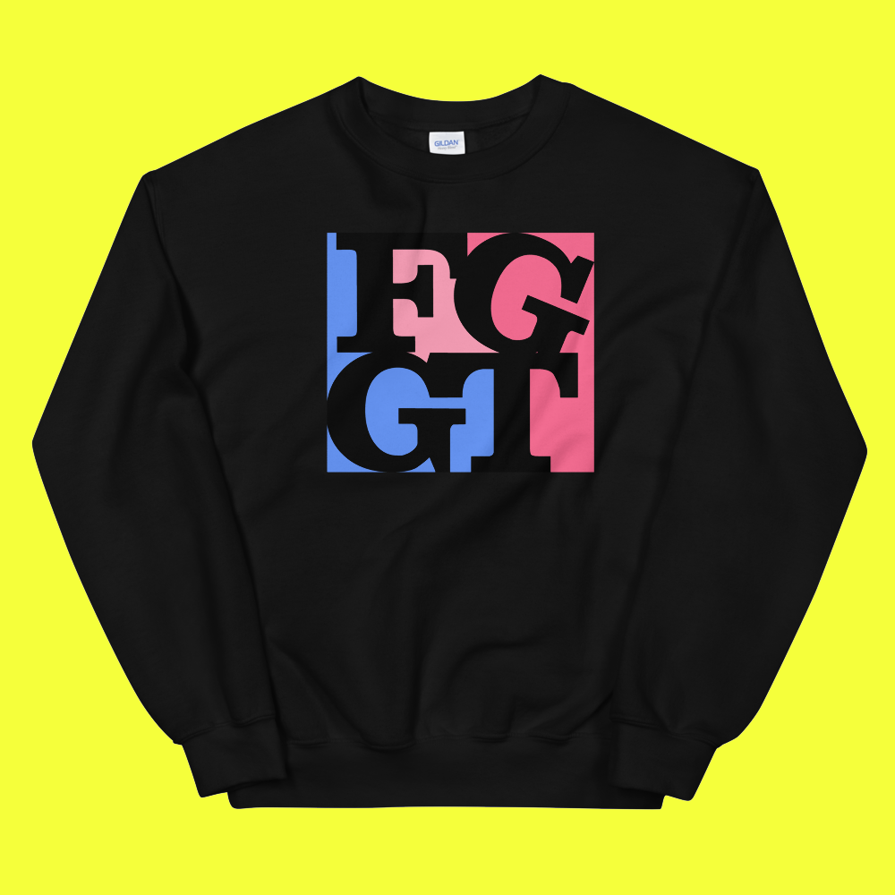 Image of FGGT CREW   Pink/Black