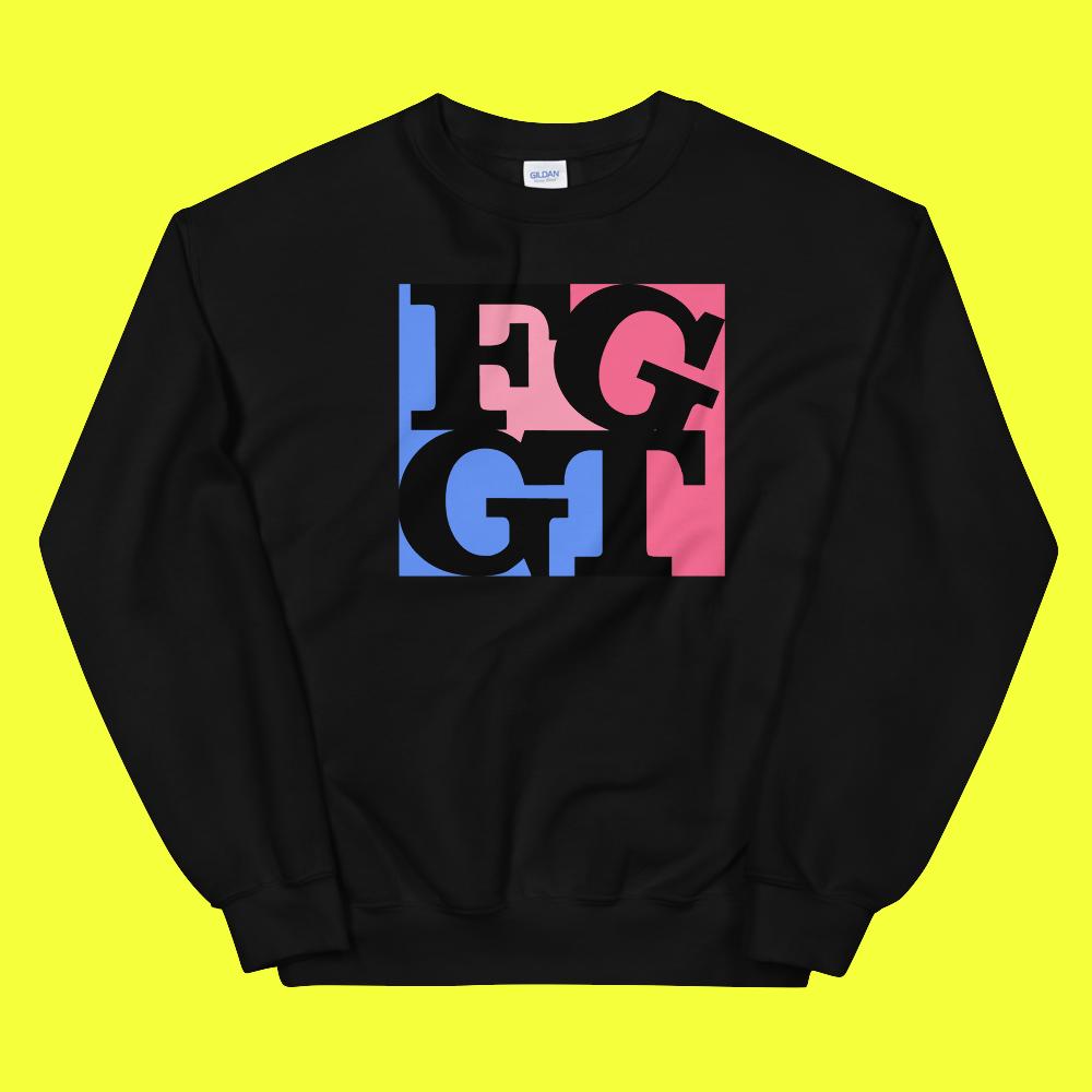 Image of FGGT CREW   Pink/Black