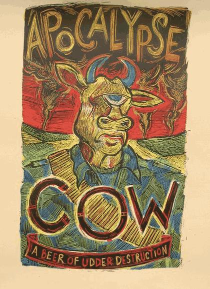 Apocalypse Cow poster 3 Floyds