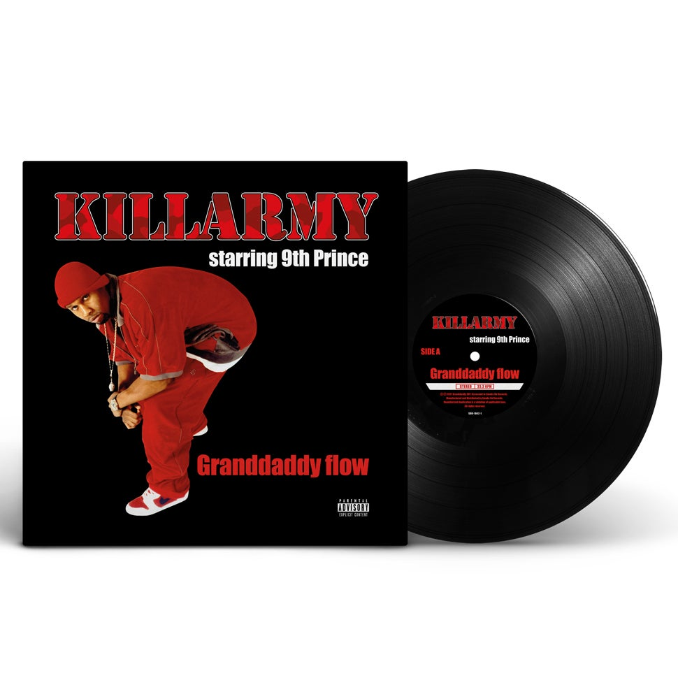 Image of Killarmy starring 9th Prince - Granddaddy flow Vinyl