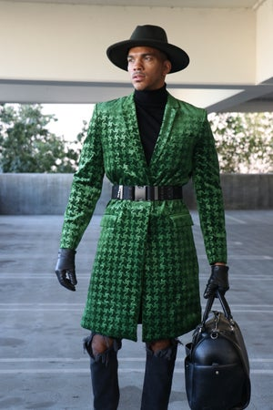 Image of The Prince Coat - Emerald Green