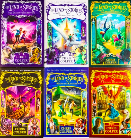 Land of Stories Series by Chris Colfer