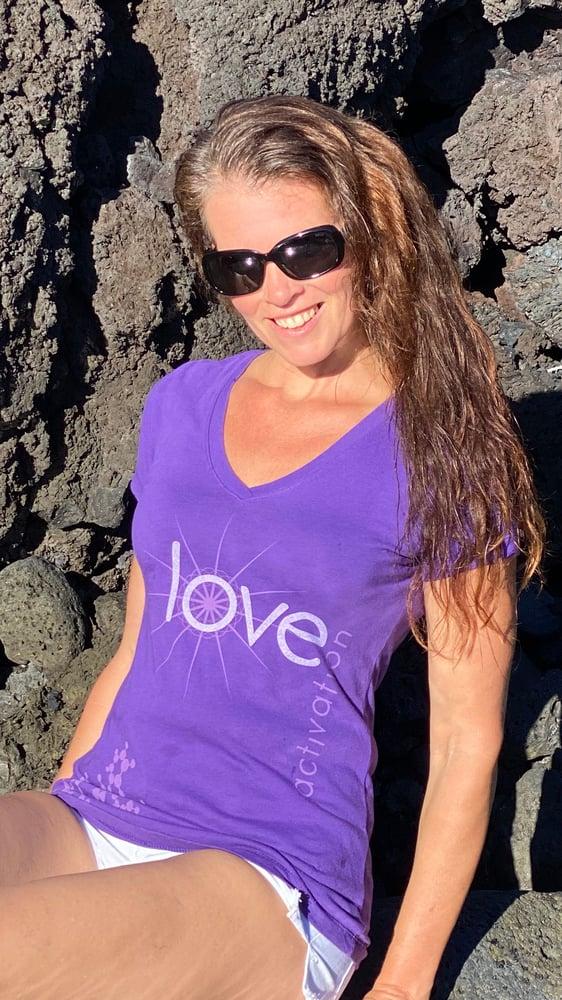 Image of Purple Love Activation Tee