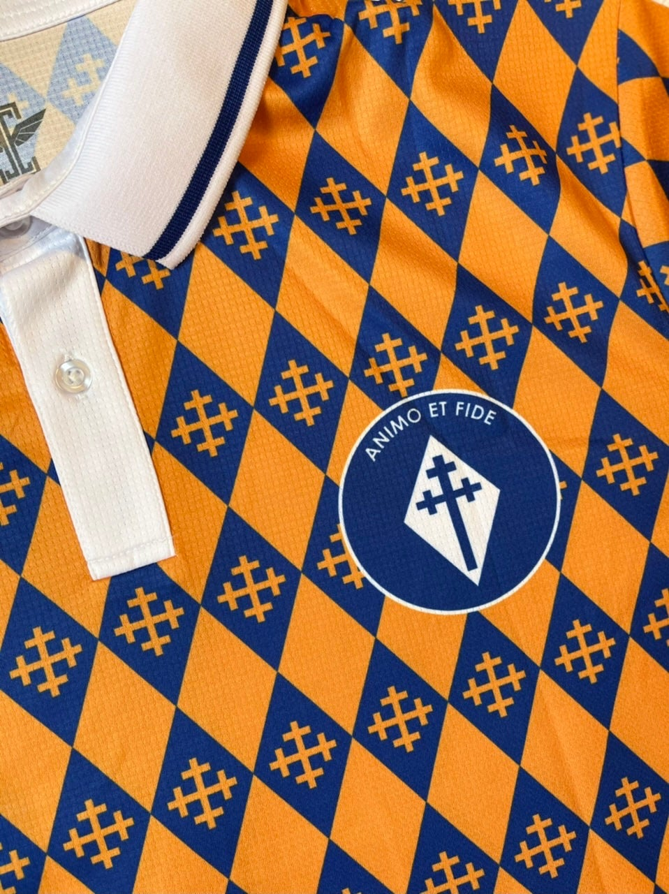 Stockport County Shirts x Icarus FC Concept Animo et Fide Shirt