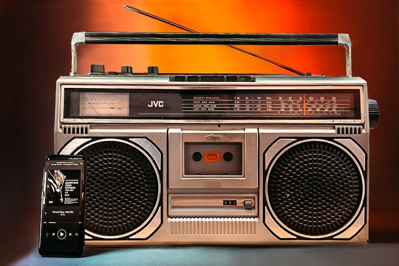 Image of JVC RC545L (1981) BLUETOOTH BOOMBOX